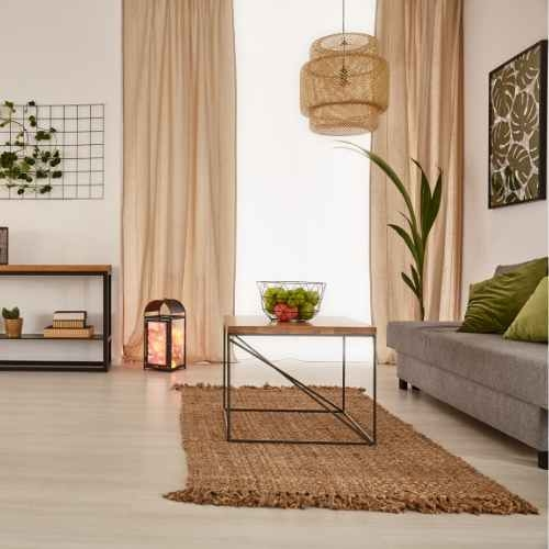 """Floral Diseño Jardinera blanco neto Cortina Lounge Córcega una base de 14/"""" 36CM"""