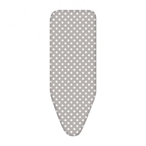 Funda para tabla de planchar Inofix Elastic Fit 135x50cm. topos