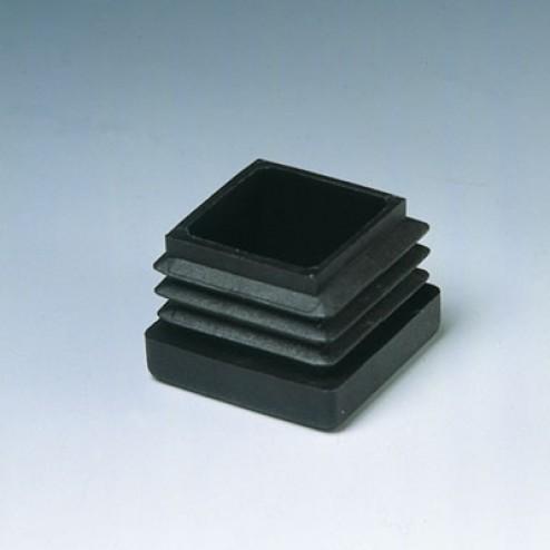 Contera interior cuadrada Inofix 30mm. negra