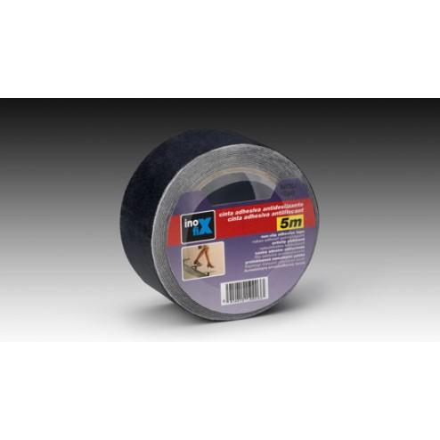 Cinta antideslizante Inofix 50mm. x 5m. negra