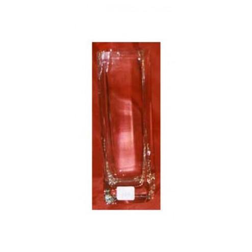 Jarrón cuadrado de vidrio Decoart 17
