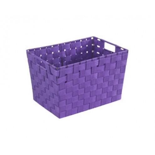 Cesto Aseo Adria 35x25x20 Púrpura