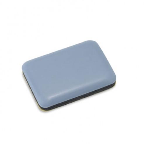 Deslizador para mueble adhesivo Inofix 35x25mm. gris