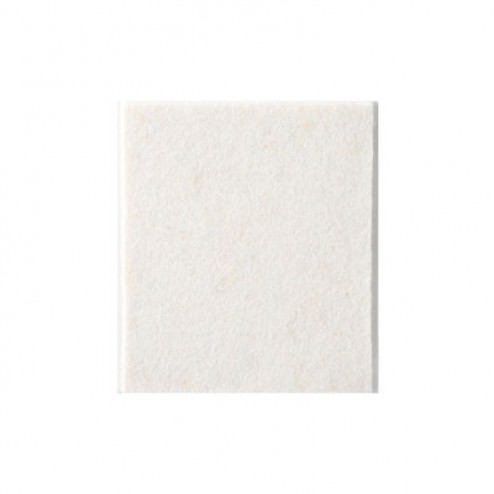 Fieltro de lana adhesivo 100 x 85mm. Inofix blanco