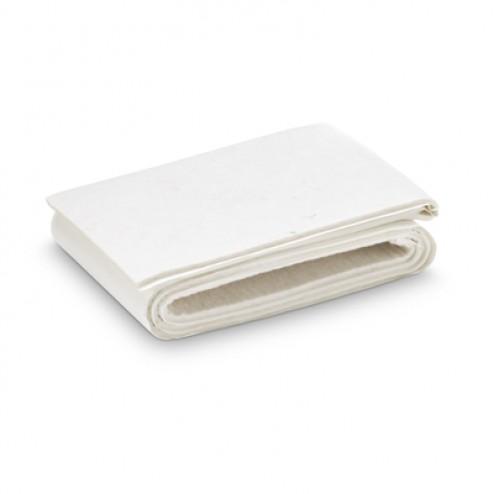 Fieltro de lana adhesivo 1000 x 85mm. Inofix blanco