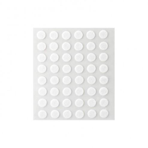 Fieltro de lana adhesivo Ø 9mm. Inofix