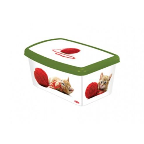 Caja decorada para accesorios de perro Curver