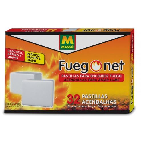 Pastillas de encendido normal Fuego Net