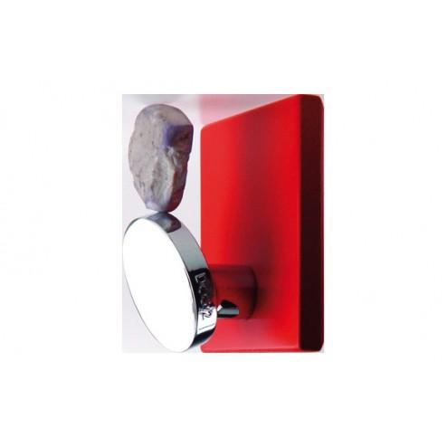 Percha cuadrada mini rojo