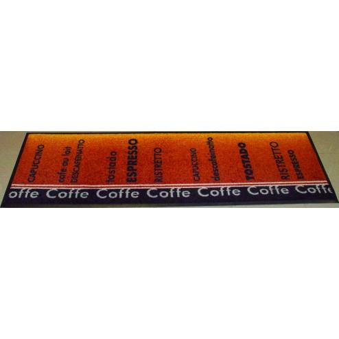 Alfombra de cocina Cafe marrón
