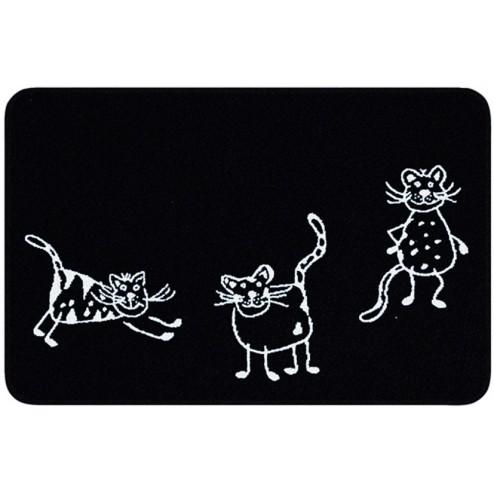 Alfombra de Baño Cats 60x90