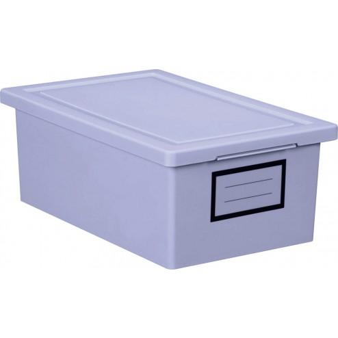 Caja ordenaciテウn Premier Box lila pequeテアa