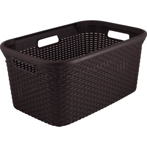 Cesta Curver Natural Style 45l Chocolate