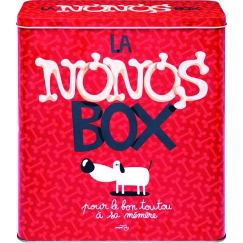 Caja metálica decorada comida perros