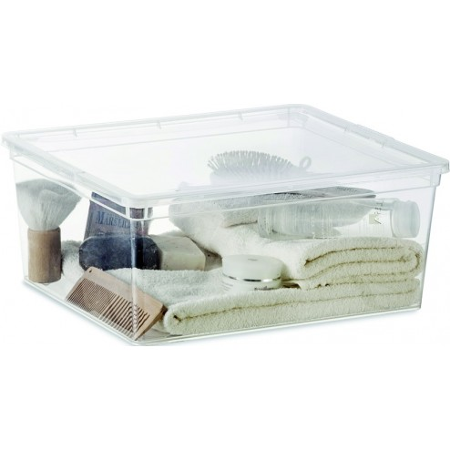 Caja Multiuso Box M transparente