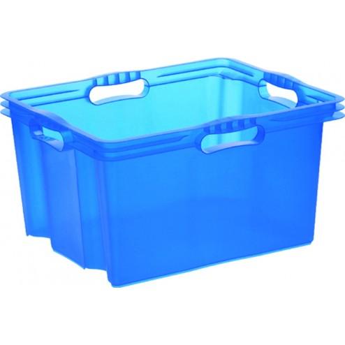 Caja Multibox sin tapa Xl azul