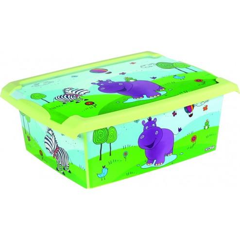 Caja Infantil Fashion Box Hippo 10l