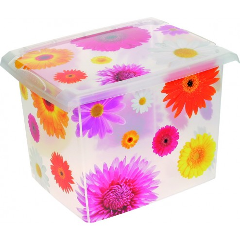 Caja Infantil Fashion Box Pink Flowers 20'5l
