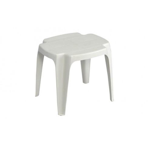 Mesa Auxiliar Solid Blanca Progarden 42x37x38 cm