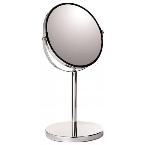 Espejo de baño de 5x de augmento y Pie.