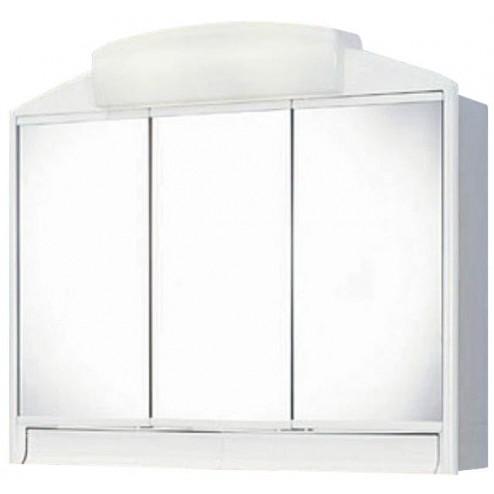 Armario de baño 3 Puertas + 2 Luces 40w