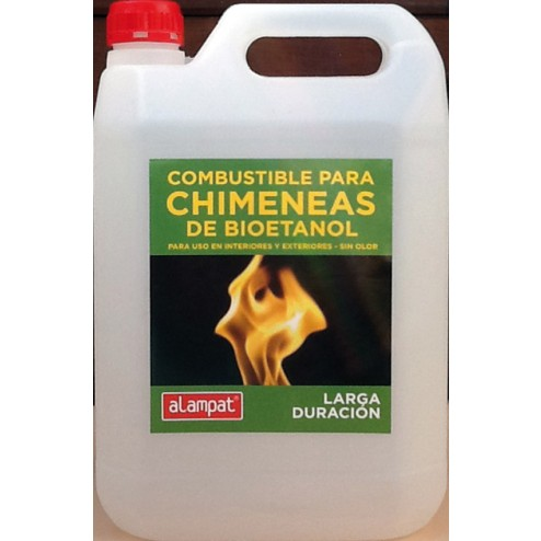 Bioetanol chimeneas 5l.