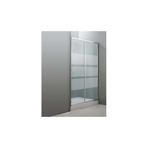 Mampara de ducha cristal transparente