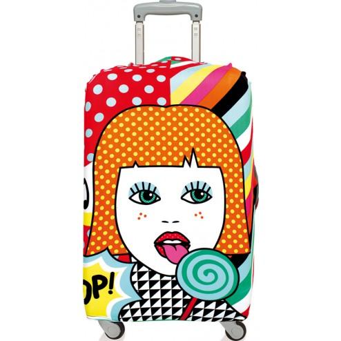 Funda para maleta decorada 58x65 Pop Lollipop