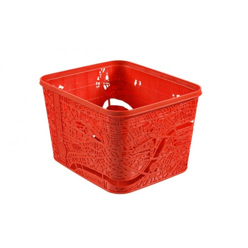Caja Box London 18L Rojo 35x30x24cm