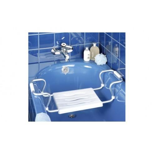 Asiento regulable para bañera