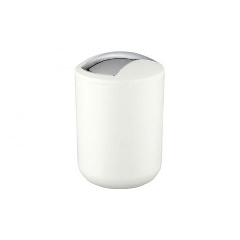 Cubo de basura para baño Brasil 2l. blanco