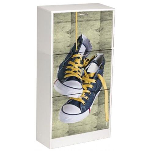 Zapatero decorado zapatillas