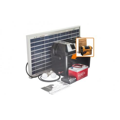 Kit Solarlife con Accesorios 30W-12V
