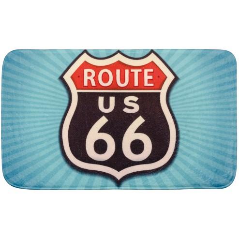 Alfombrilla para el baño Route 66