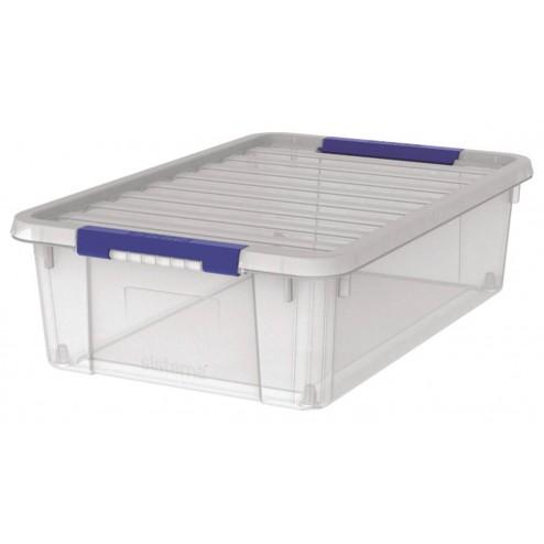 Caja plastico de ordenación de 14 litros.