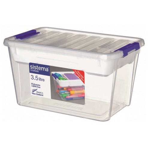 Organizador de plástico de 3,5L.