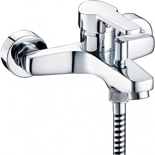 Monomando serie arctic cromo baño-ducha