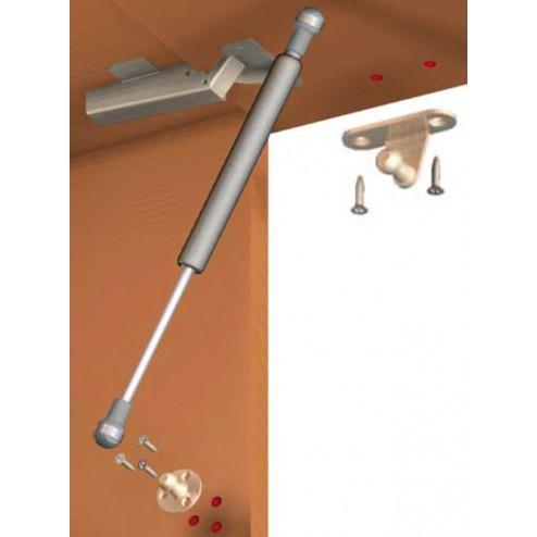 Resorte gas para muebles con puertas abatibles 10 kg