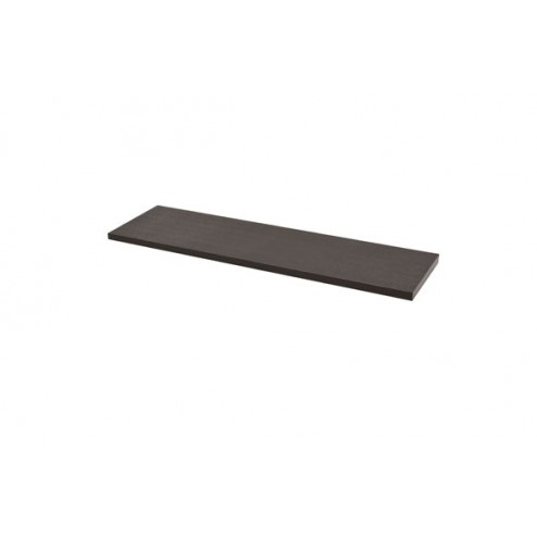 Estante rectangular 4xs wengue-1,8x80x23,5 cm