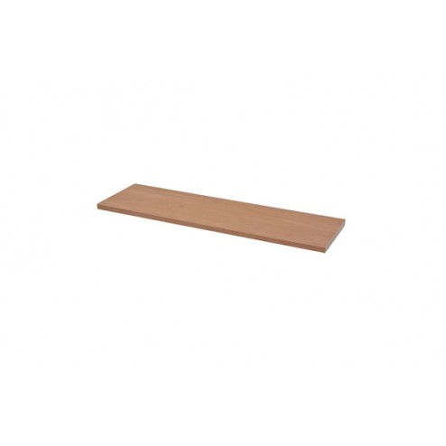 Estante rectangular 4xs roble nudoso-1,8x80x23,5 cm