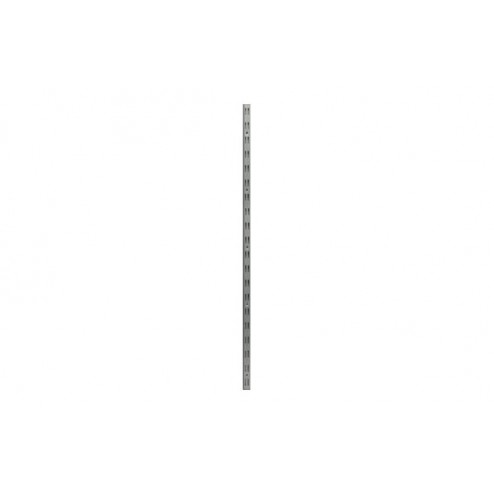 Guia f-doble hierro (2 uds) 100 cm plata mate