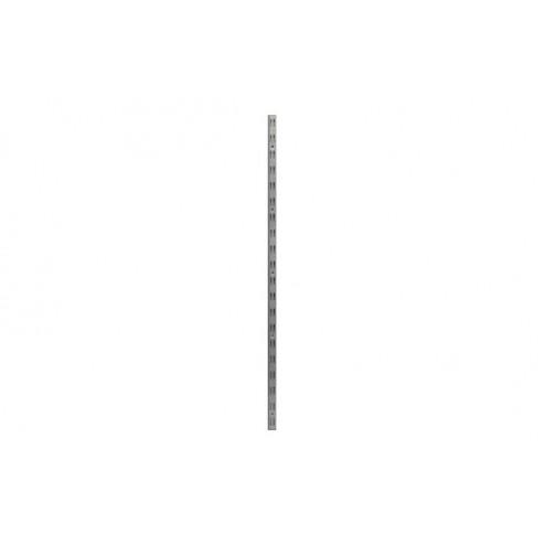Guia f-doble hierro (2 uds) 150 cm plata mate