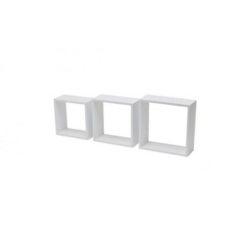 Estante cubo 3tc (kit 3 un) blanco