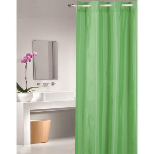 Cortina de ducha poliester Magic verde