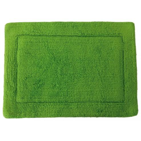 Alfombra de baño verde