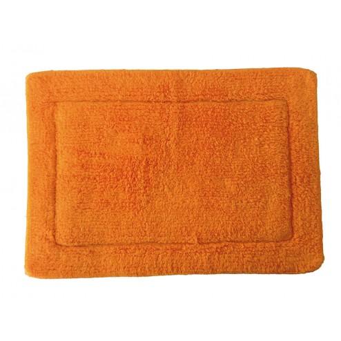 Alfombra de baño naranja