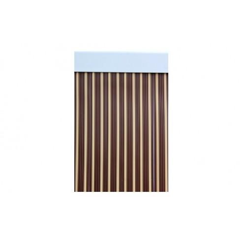 Cortina de puerta cinta 90x210 ebro-marron/beige