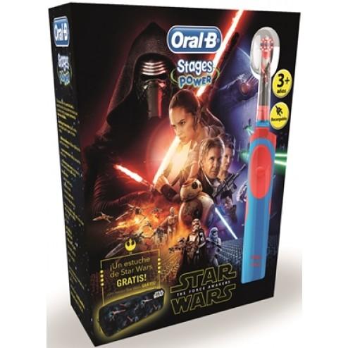 Cepillo eléctrico Star Wars Oral-B+estuche