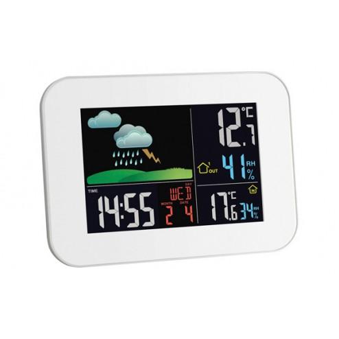 Estacion meteorologica inalambrica blanca 3 sensores