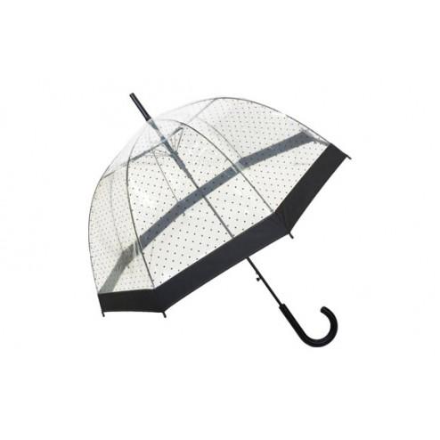 Paraguas transparente de señora